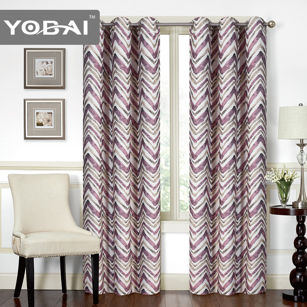 China Style 100% Polyester Spaghetti Design New Model Models Jacquard Curtain Room