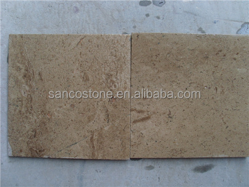Rusty Yellow Honed Travertine Tiles Marble Pavers