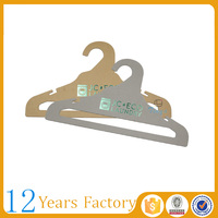 Bulk cardboard kids custom clothes hangers