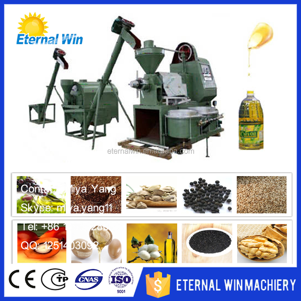 Small scale coconut/sesame/peanut/rapeseed/soybean/olive oil process production line