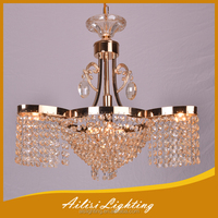 European Most Popular Simple Type Crystal Chandelier with All Champagne Crystal