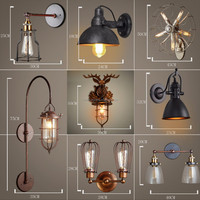 guzhen oil lamp wall lamp whole brass loft small house shade ,whole copper wall lamp for corridor smooth light with warranty