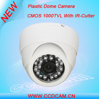 2014 best selling CCTV security Plastic case mini IR Dome Camera