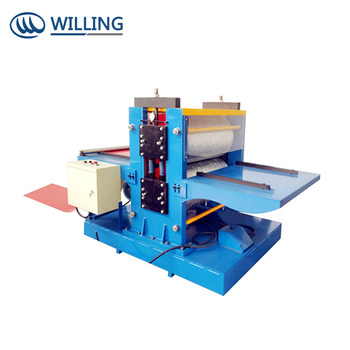 High quality steel embossing roller, embossing machine