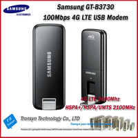Cheapest Original Unlock LTE-FDD 100Mbps Samsung GT-B3730 4G LTE Modem And 4G LTE Dongle