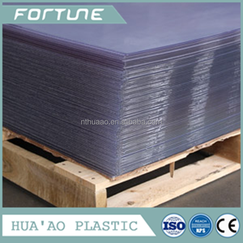 rigid hardness sheet and moisture proof feature decorative pvc film