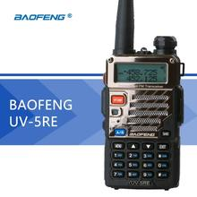 2017 Baofeng UV-5RE Portable Dual band VHF UHF two way radio 136-174/400-520 ham cb radio Walkie Talkie