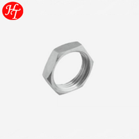 High quality stainless steel hexagon nut pipe fitting thing