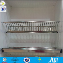 Guangzhou product popular stainless steel cabinet foldable draining rack