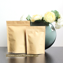 Recycle customized fast delivery custom paper food packaging bag