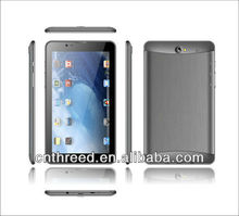 internet shop 7inch tablet pc 3g sim card slot built-in 3g phone calling bluetooth mtk6577 android4.2 mini laptop