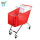 210l european shopping trolley plastic european style supermarket euro shopping trolley carts with wheels