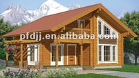 Prefabricated container wooden house