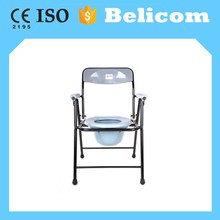 China factory custom medical plastic commode chair