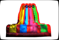 giant inflatable slide /colourful inflatable commercial slide