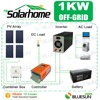 Bluesun 1000w off grid mini panel solar light kits from china for africa market