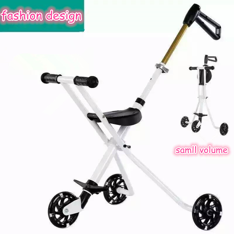 Innovation folding light weight design baby tricycle,fashion triciclo de bebe,ride on toys trike triycle for kids made in china