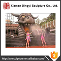 Giant Dinosaurs Sculpture Warter Park for Intent Package Project