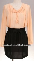 ladies offical dress with long sleeves