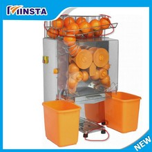 20 Fresh Oranges Per Minute Stainless Steel Shell Automatic Orange Juicer