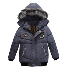 Hot selling a jacket small MOQ evening dress long for children kids coat bomber
