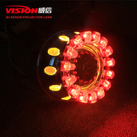 2015 auto parts round LED angel eye high intensity 35w ccfl angel eyes car led headlight for all cars