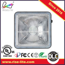 DLC CUL CE petrol Gas Station Led canopy light fixture 5 years warranty 70w retrofit parking garage led canopy light
