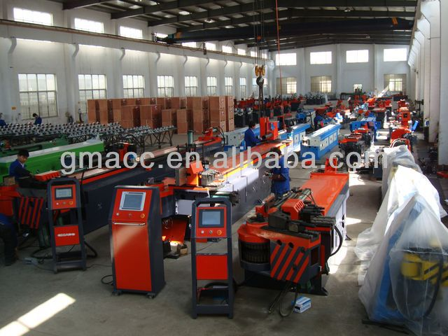 double -head pipe bending machine