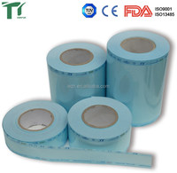 Factory direct sales paper bag dental sterilization Sterile autoclave plastic paper bag dental sterilization pouch rolls