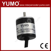 YUMO ISC3004 diameter 30mm 360 pulse A B Z phase mini solid shaft price incremental rotary encoder