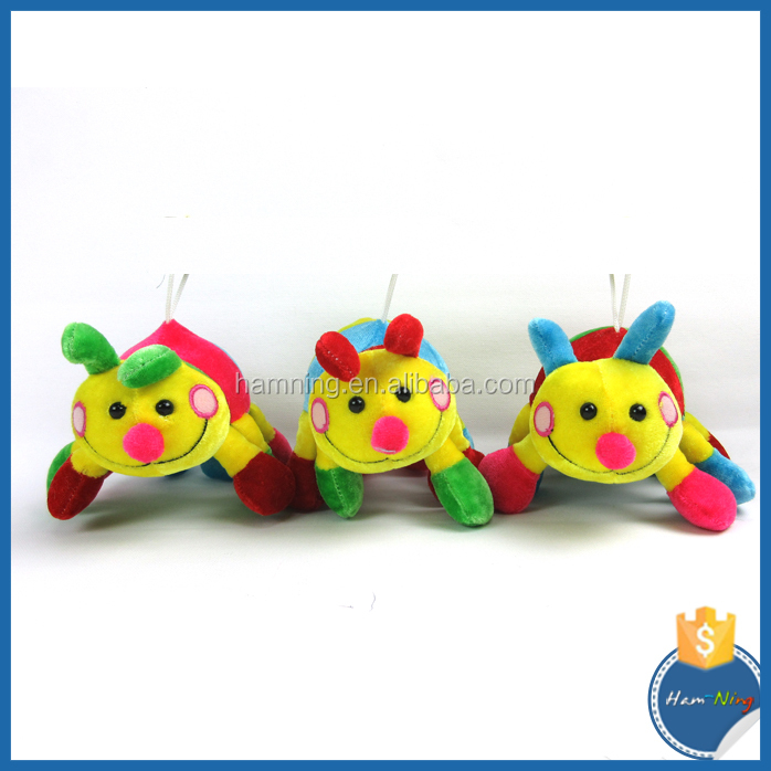 Kids Toys Manufacturers caterpillar soft clourful baby toys