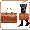 high quality hot selling croc embossed leather business men travelling holdall bag weekend handbags bag camping bag