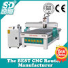 cnc wood carving machine sd1325 with HIWIN square orbit 4.5kw water cooling spindle vacuum table