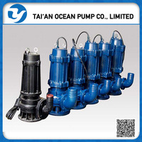 Non-clog portable sewage pump//Suction submersible Water Pump