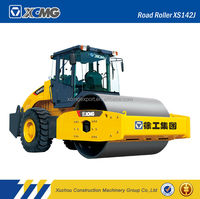 XCMG Official manufacturer XS142J 14ton new road roller compactor for sale