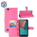 Low Price Wallet Case For Vodafone Smart E8 VFD510 Leather Flip Cover