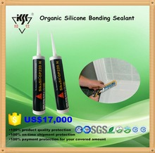 Waterproof RTV Transparent organic silicon bonding sealant for window and door