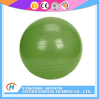 colorful and original design fitness yoga ball with resistance bands