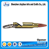 2015 hit products hot sale 50 caliber bullet metal opener with laser logo