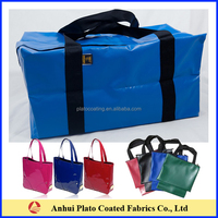 customized outdoor waterproof tarpaulin luggage large volume dry duffle bag