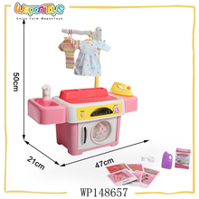 preshcool household toy with music and light rotating toy washing machine for kids
