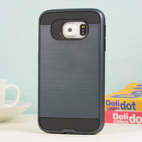 New design tpu pc case with slim armor combo case for samsung s5 case