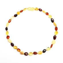 KNK-189002 Baby Natural Baltic Amber Teething <strong>Necklace</strong> For Wholesale