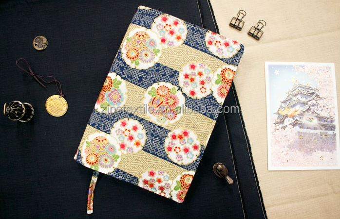 Japanese Pack cover cotton cute Book cover custom Fabric