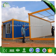Easy To Install house pre fab container/knock down flat pack container house/light steel structure house container