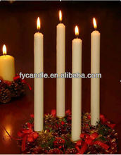 Hot Sale! Manufacture white wax candle light/ Velas /Bougies / Made in China/ High quality /Low price
