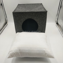 New design square foldable cave dog bed pet bed for dog cat