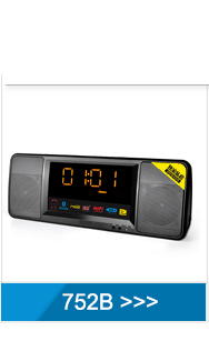Wholesale red light wireless alarm clock radio