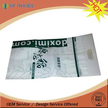 Food grade plastic resealable bag for rice