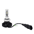 Top quality car led headlight kit X3 ZES Gen2 Chips 50W 6000LM 3000K 6500k 8000k car headlamp 9005 9006